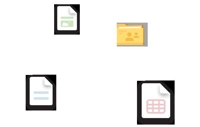 안전한 링크를 통한 문서 공유